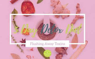 5 Day Detox Diet – Flushing Away Toxins From Your Body