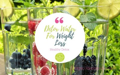 Detox Water For Weight Loss And Clear Skin – What You Need To Know