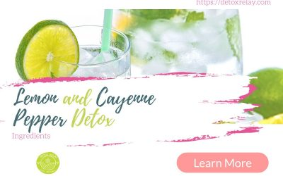 Lemon and Cayenne Pepper Detox Ingredients